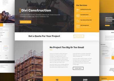 Šablona stavební společnost